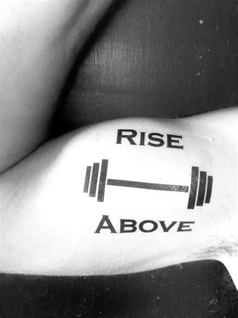 workout tattoos best 25 strength designs ideas on