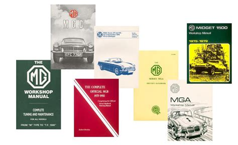 Mg Technical And Owner Information Bentley Publishers