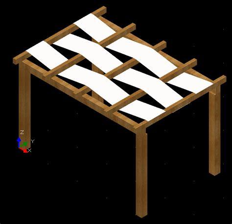 gazebo in legno dwg blumaticad market 3d piscine ed accessori