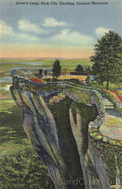 Rock City Gardens Tennessee Lover S Leap Lookout Mountain Rock City Gardens Tn