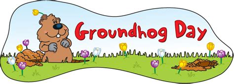 groundhog day graphics free groundhog day clipart
