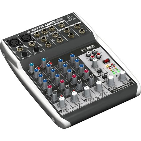 Mixer Audio Behringer 6 Channel behringer q802usb 8channel audio mixer price in pakistan