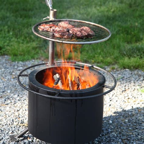 15 inch smokeless wood burning pit