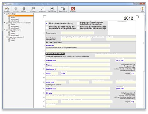 Musterbriefe Software Wiso Steuer 2013 F 252 R Steuerjahr 2012 De Software
