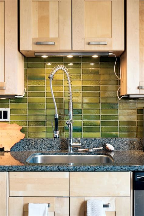 green tile kitchen backsplash 6 diy rustic backsplashes for your kitchen