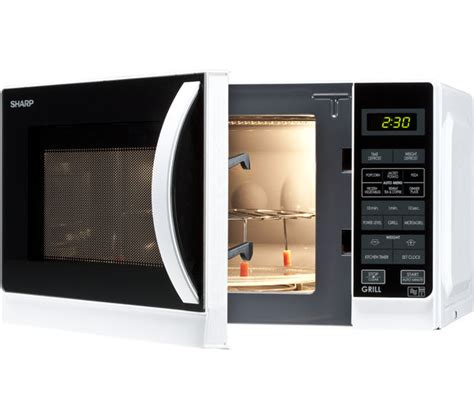 Microwave Oven Gril r662wm 20l gril sharp r662wm microwave with grill