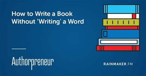 geis ii a without books how to write a book without writing a word rainmaker fm