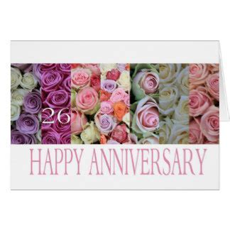 26th Anniversary Cards & Invitations   Zazzle.co.uk