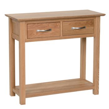 console table with 2 chairs contemporary oak console table 2 drawer cranleigh furniture