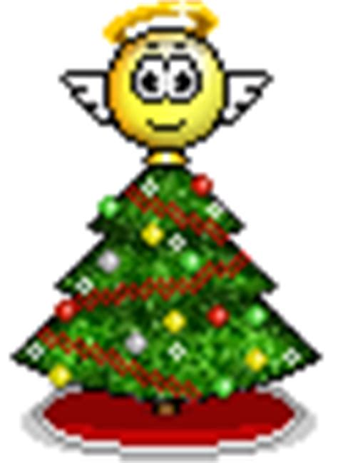 christmas tree moving emoticon tree smiley 175 176 176 smilchat animated smiley 3d smilie happy small big large