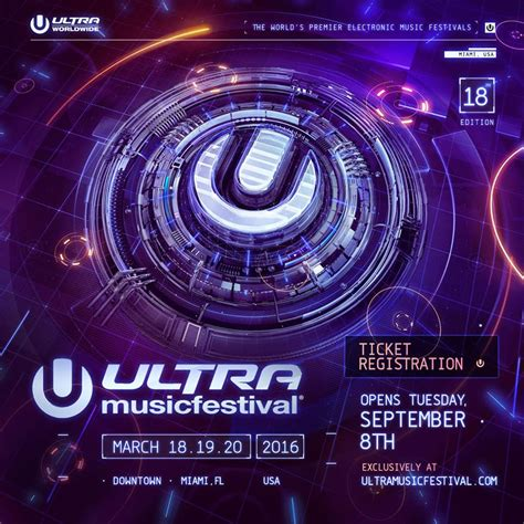 Ultra Music Festival Ticket Giveaway - register for discounted ultra music festival tickets musicfestnews