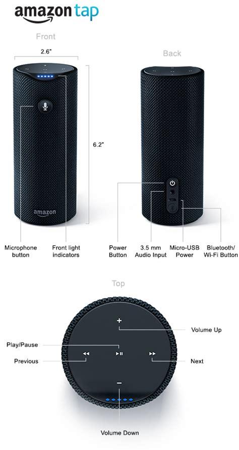 amazon tap amazon tap portable bluetooth speaker alexa enabled