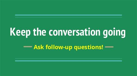 Questions To Ask For Detox Followup by Keep The Conversation Going