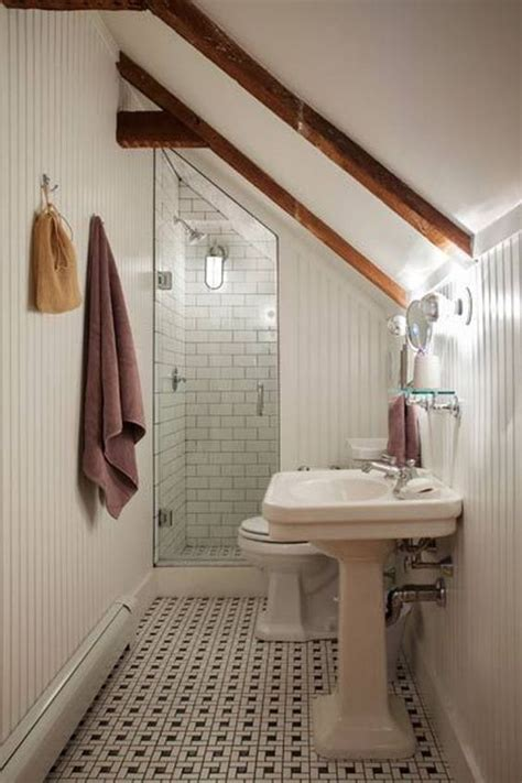 small attic bathroom ideas attic bathroom bathroom and small bathrooms on pinterest