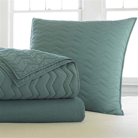 coverlet sham bedding basics euro sham teal