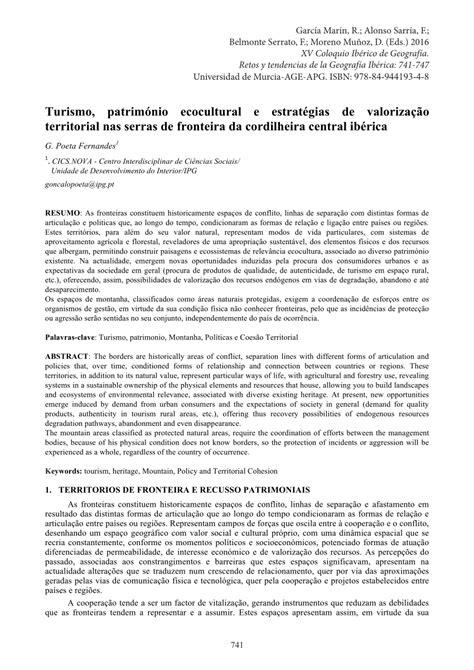 (PDF) Turismo, património ecocultural e estratégias de