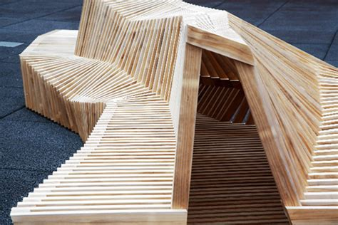 sculpture bench 15 urban furniture designs you wish were on your street