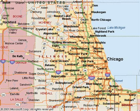Chicago Illinois Us Map by New Chicago Illinois Maps World Map Photos And Images