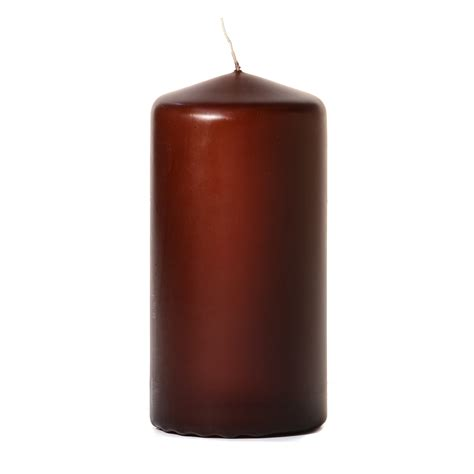 best unscented candles brown 3x6 unscented pillar candles 6 inch pillar candles