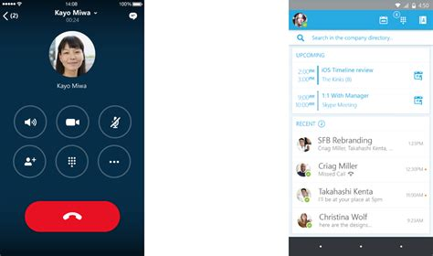 apps better than skype microsoft announces preview of new skype for business ios