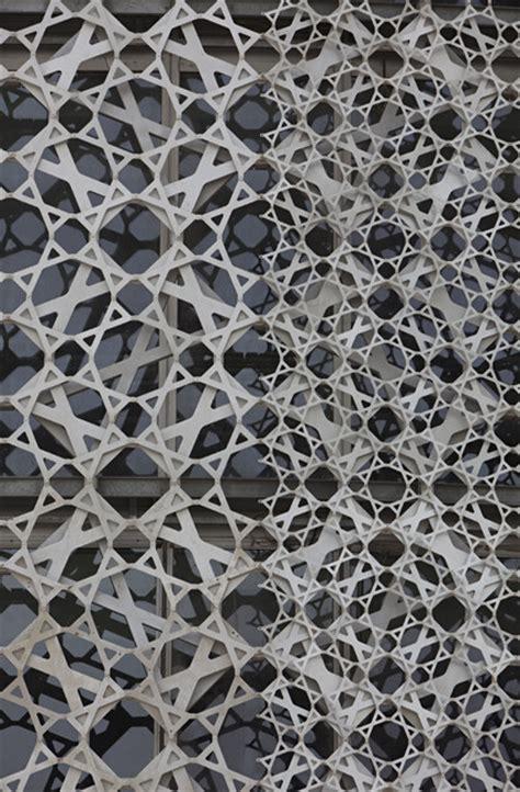 Pattern Design Qatar | in progress doha office tower qatar ateliers jean