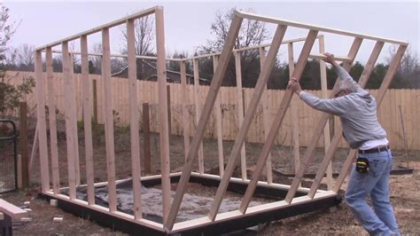 how do i build a greenhouse in my backyard how to build a greenhouse diy framing youtube