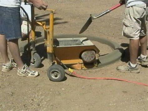 Landscape Edging Machine Rental Curb Machine Landscape And Concrete Curb Machines