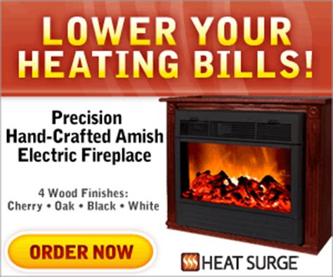 Amish Fireless Fireplace How Do They Work by Heat Surge Amish Fireplace As Seen On Tv