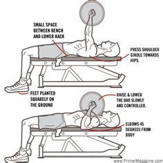 correct incline bench press form 1000 ideas about bench press workout on pinterest bench