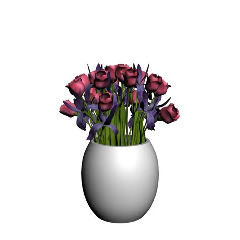 Tulip Bulbs In A Vase by Vase With Tulips Design And Decorate Your Room In 3d