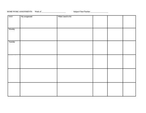 homework reading log template reading logs that require parent signature new calendar
