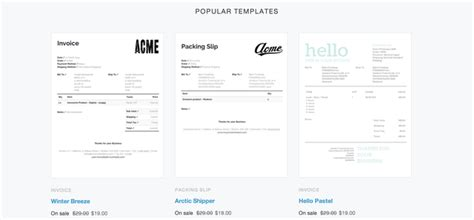 shopify invoice template ricdesign
