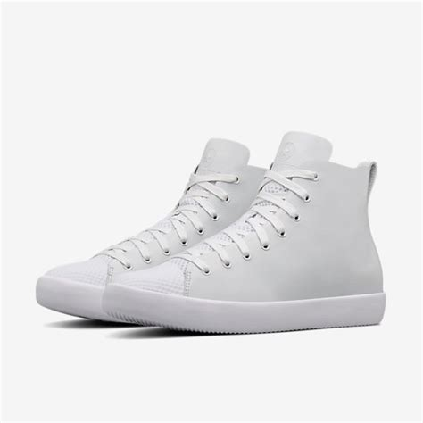 Converse High Premium 4 premium leather tops the converse all modern high top htm weartesters