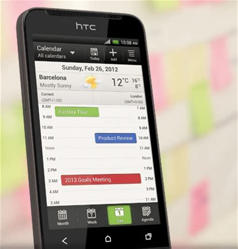 Htc Calendar Htc One V Android Smartphone For The Masses Itech News Net