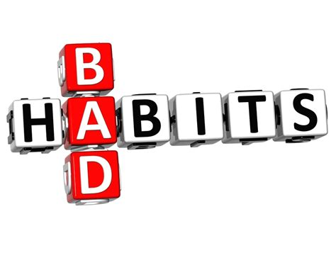 bed habits are your bad habits harming your business alliance