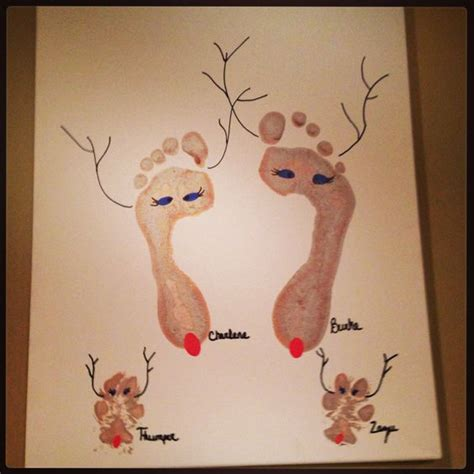 craft projects for couples crafts for couples adorable reindeer and