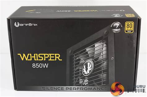 Bitfenix Whisper 850w Gold bitfenix whisper m series 850w psu review kitguru part 2