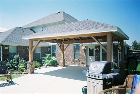 Detached Patio Cover Plans by Free Standing Patio Cover Plans