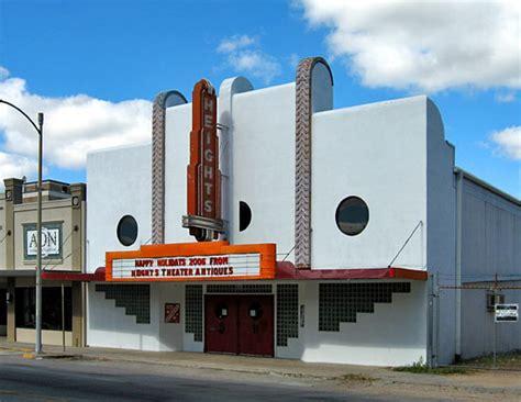 saved historic heights theater   reborn  major