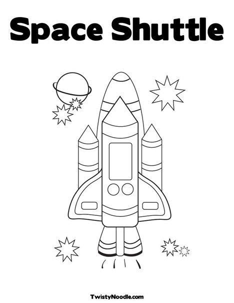 preschool coloring pages outer space space shuttle coloring page for the story exploring space
