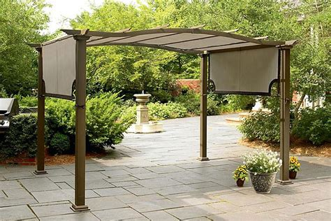 Garden Oasis Pergola With Canopy by Sears Garden Oasis Pergola Canopy The Outdoor Patio Store