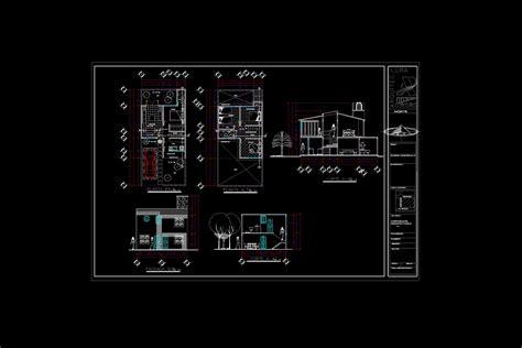 plano de habitacion descarga gratis plano casa habitacion planos y bloques