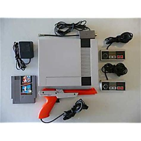 nintendo nes console for sale buy a nes nintendo system console with gun and more