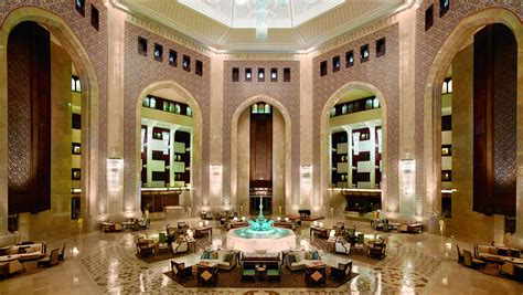 Moroccan Home Decor And Interior Design by Al Bustan Palace A Ritz Carlton Hotel To Undergo