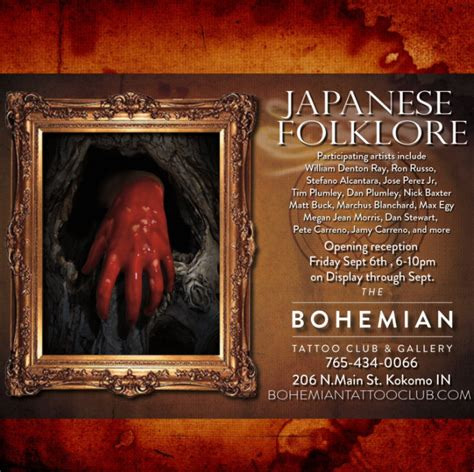 bohemian tattoo kokomo the bohemian club and gallery hosting traditional