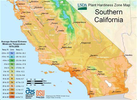 garden zone map california growing for the future zone maps