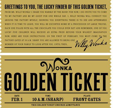 wonka template willy wonka s golden ticket by danjuwise1 on deviantart