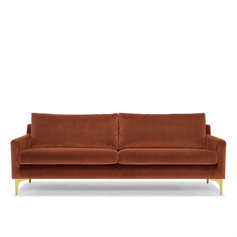 rust sofa hugo sofa 3 seater in rust me and my trend