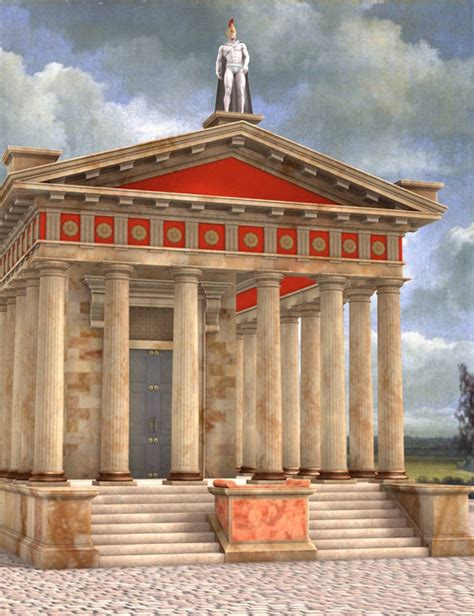 temple of mars 3d models and 3d software by daz 3d