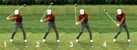 start golf swing with right shoulder swing analysis